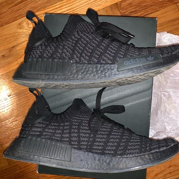 Gángster mal humor símbolo  adidas Shoes   Adidas Nmd R Stlt Triple Black   Poshmark